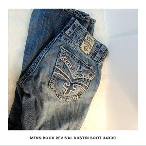 Rock Revival Dustin Bootcut 34x30 Men's